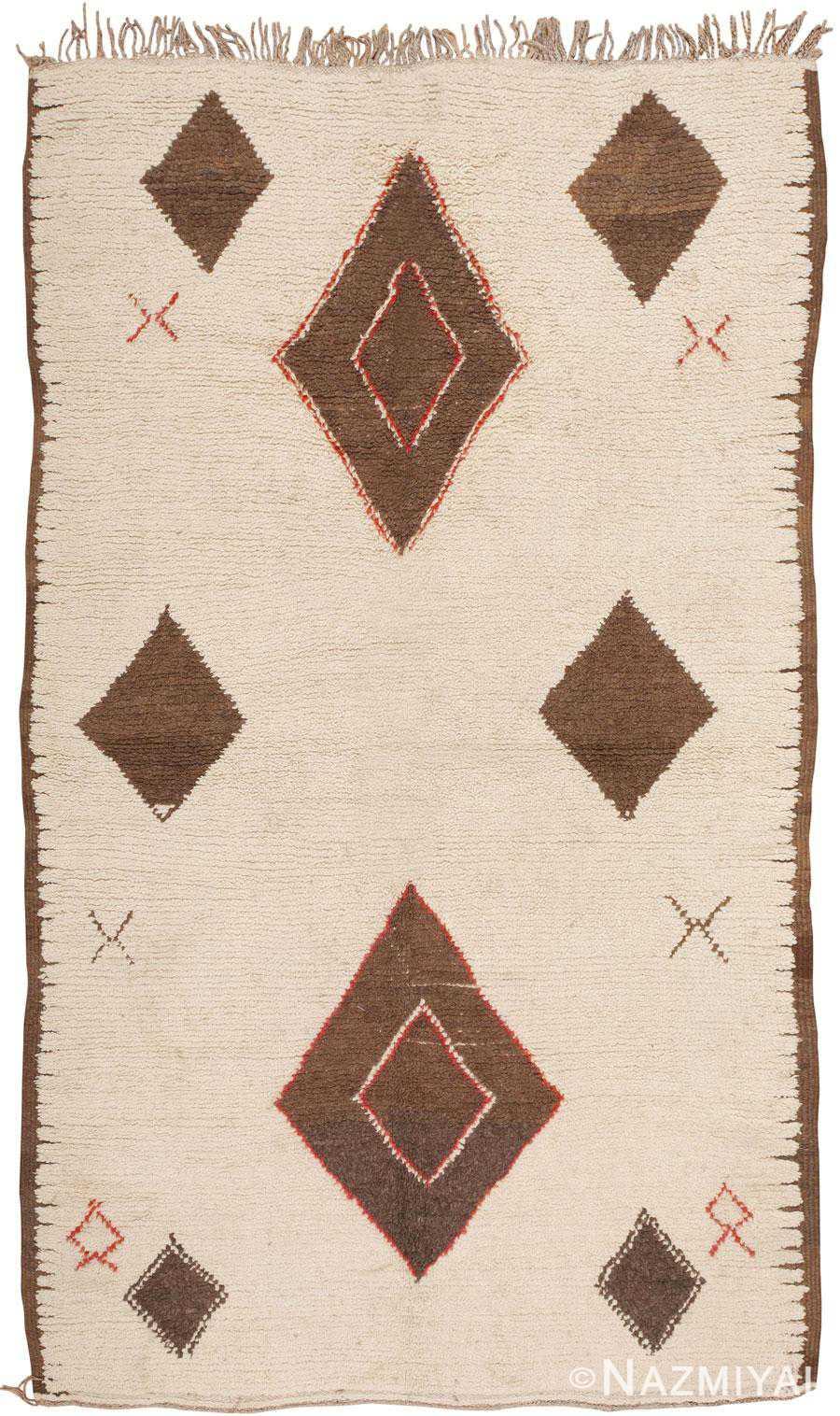 Vintage Moroccan Rug 45618 Detail/Large View