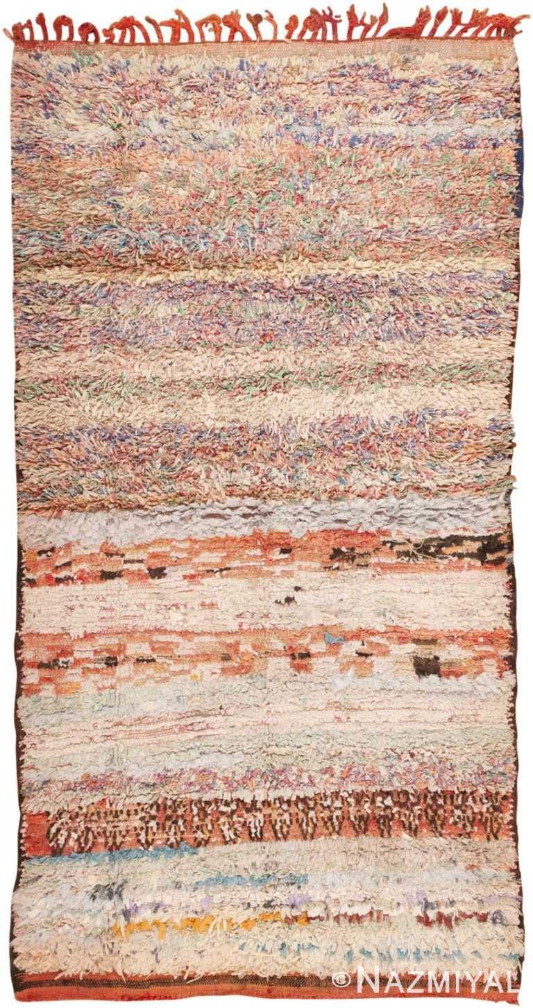 Vintage Moroccan Rug 45696 Detail/Large View