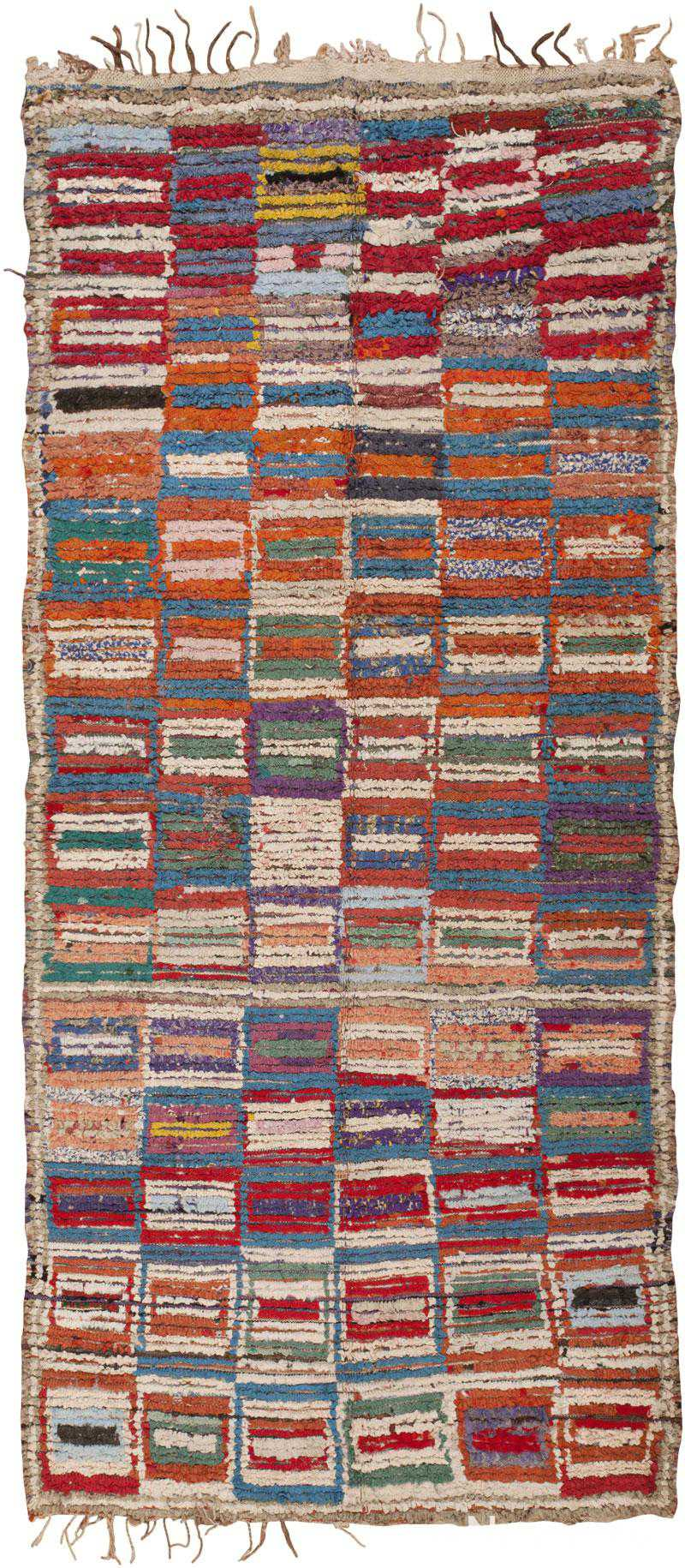 Vintage Moroccan Rug 45728 Detail/Large View