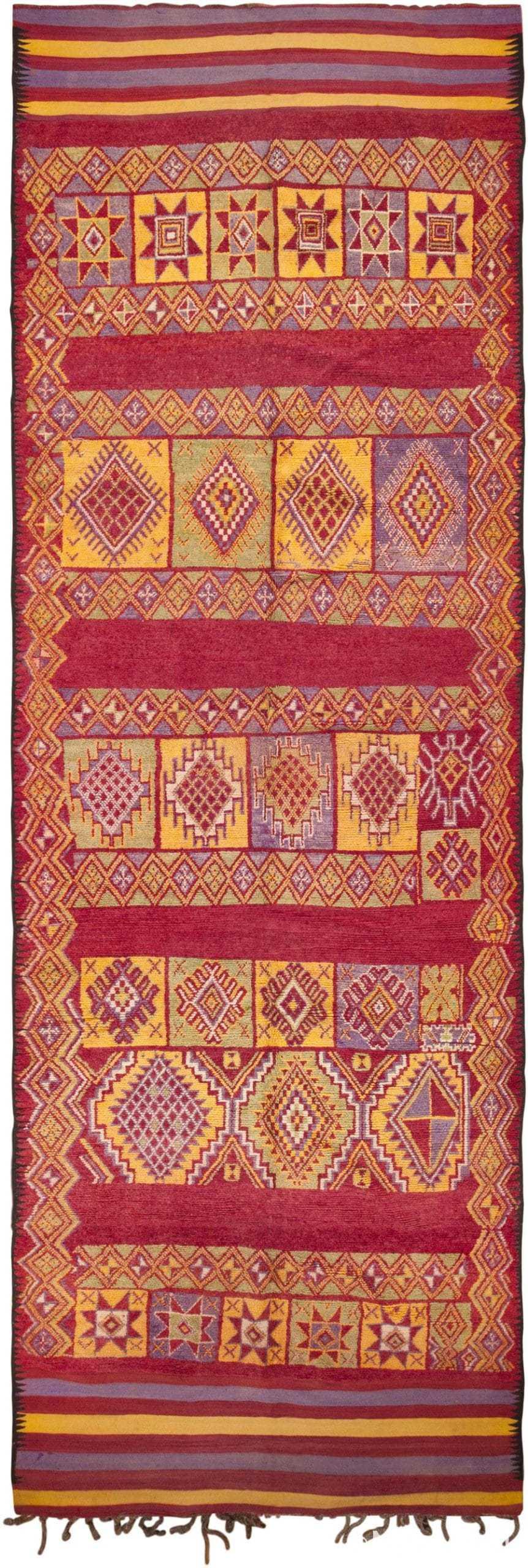 Vintage Moroccan Rug 45751 Large View