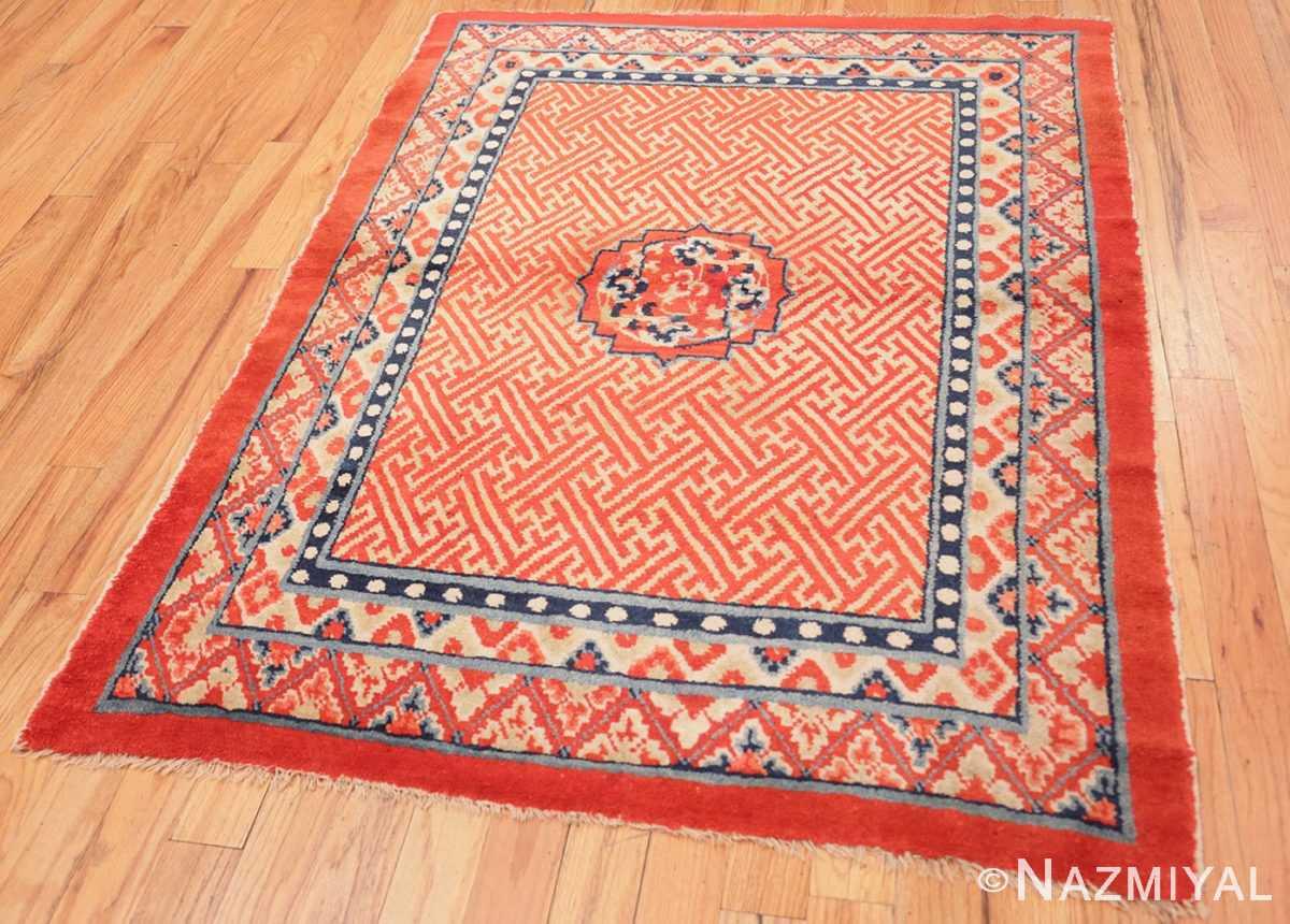 Full Antique Tibetan rug 45640 by Nazmiyal