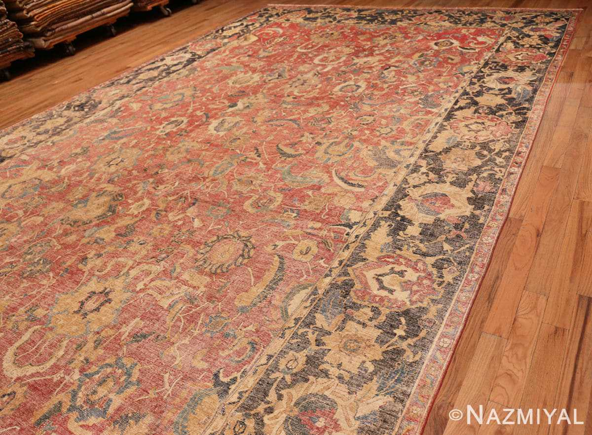 Full Oversized Antique 17th Century Persian Esfahan Oriental rug 44143 by Nazmiyal