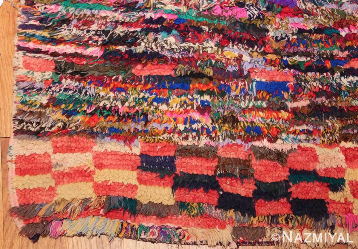 vintage moroccan rug 45711 corner Nazmiyal