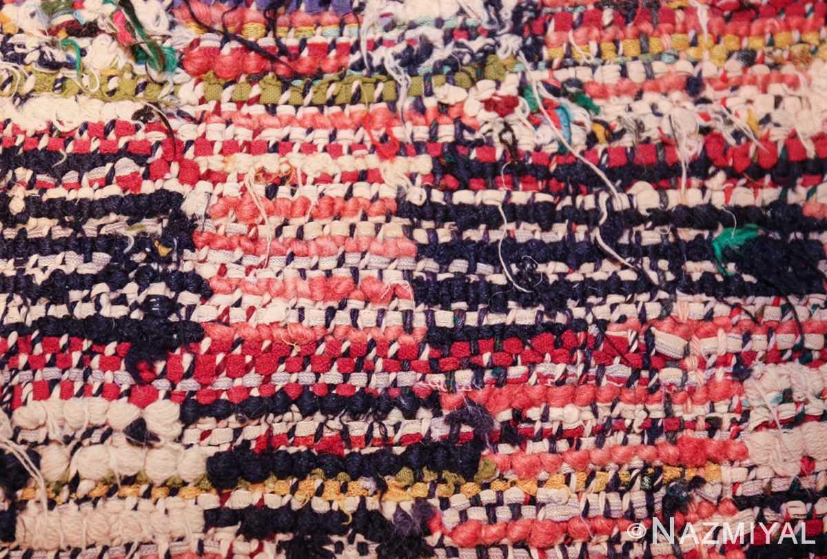 vintage moroccan rug 45711 knots Nazmiyal
