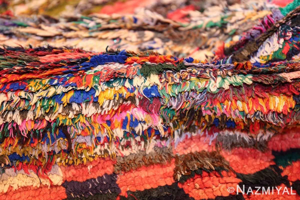 vintage moroccan rug 45711 pile Nazmiyal