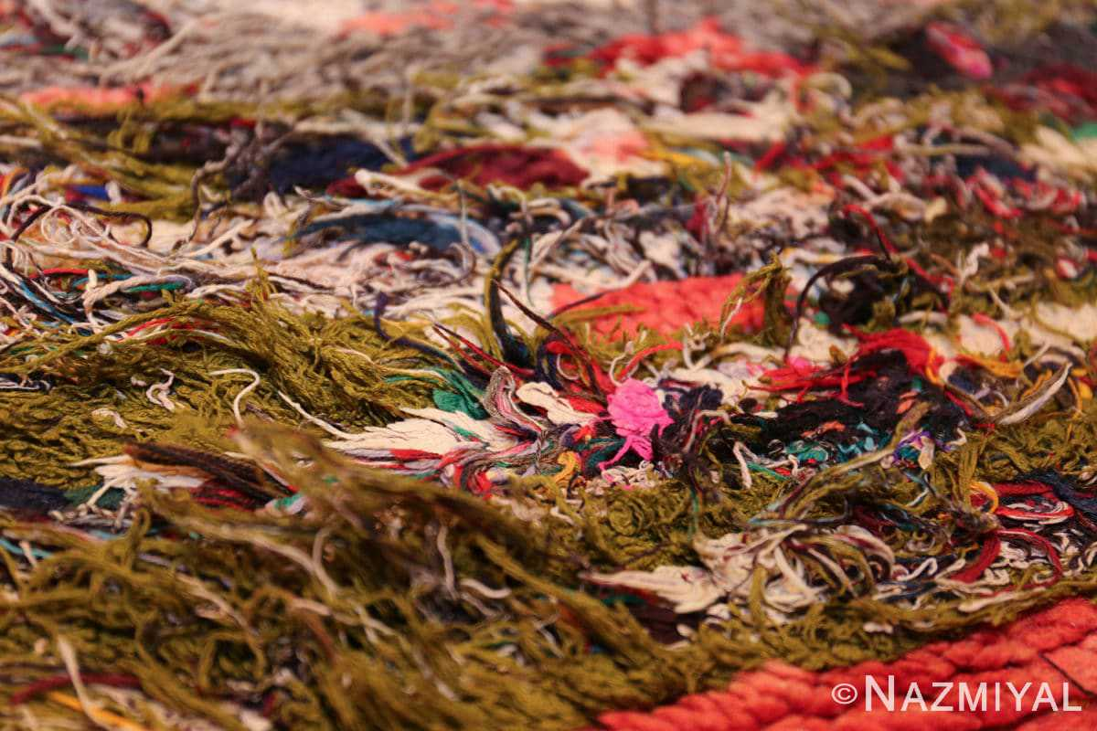 vintage moroccan rug 45711 pink Nazmiyal
