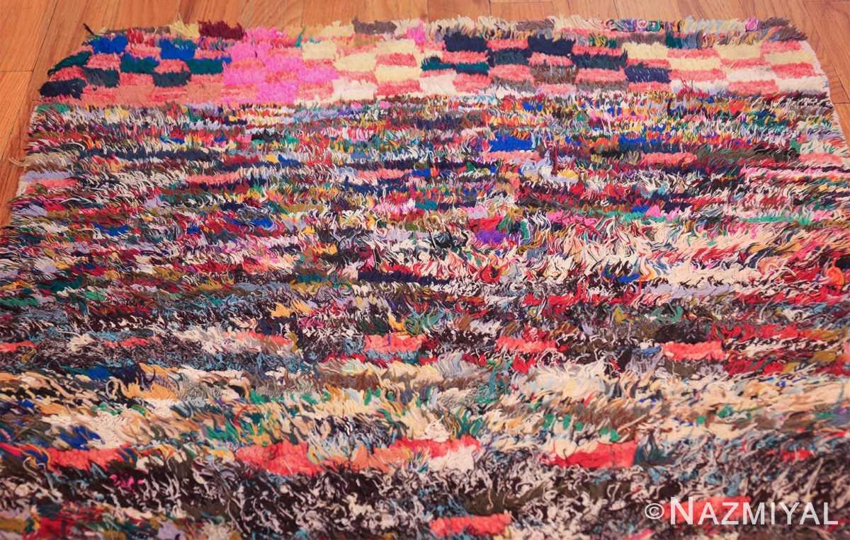 vintage moroccan rug 45711 top Nazmiyal