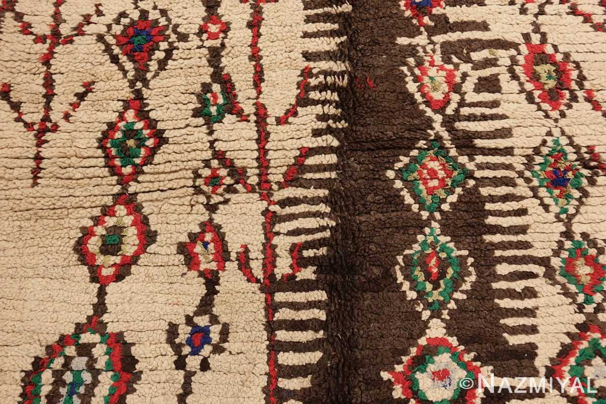 vintage moroccan rug 45759 center edited Nazmiyal