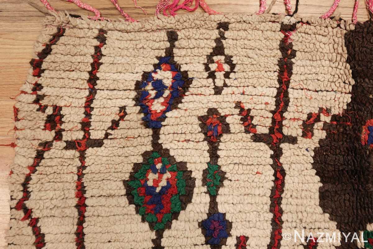 vintage moroccan rug 45759 corner edited Nazmiyal