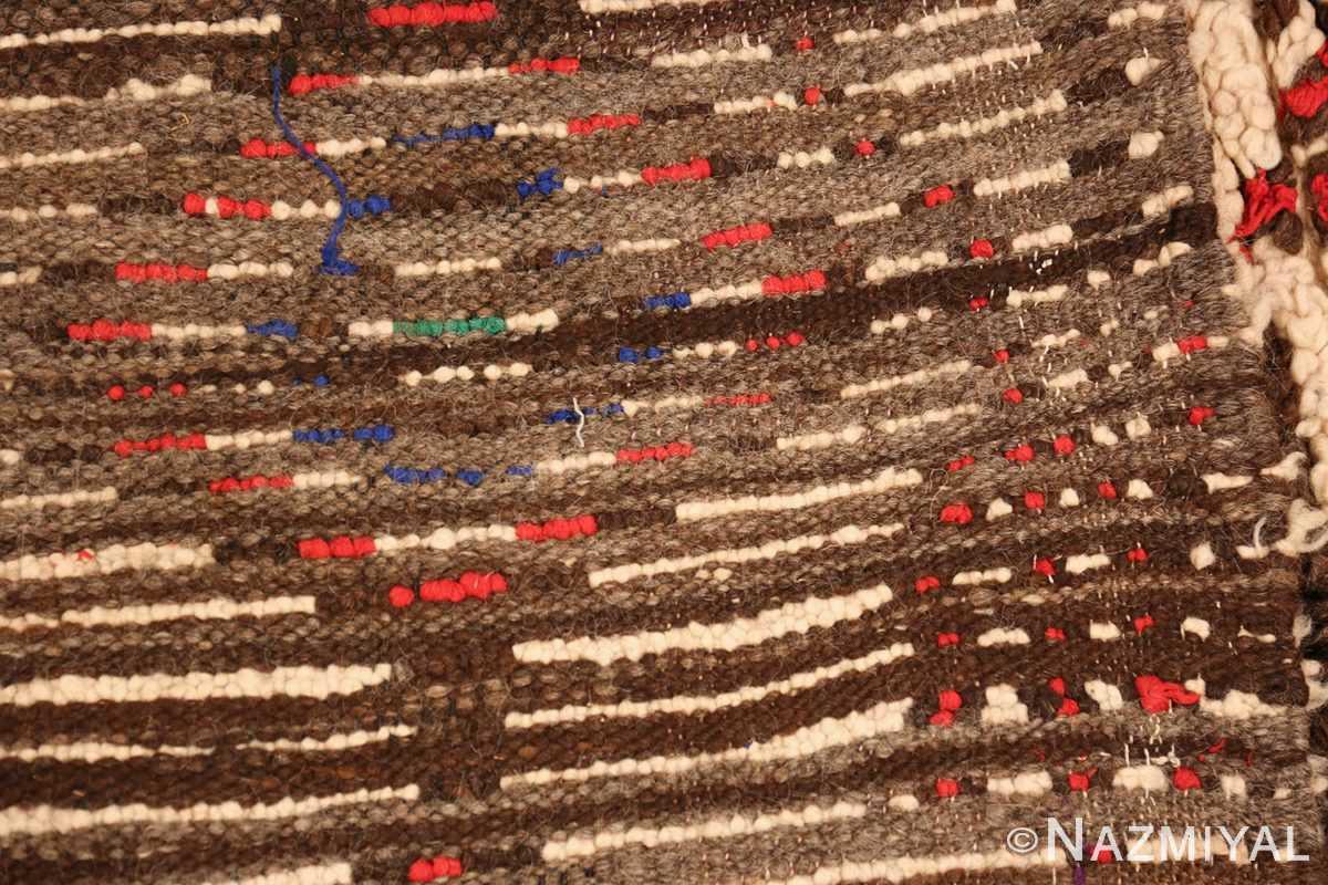 vintage moroccan rug 45759 weave Nazmiyal