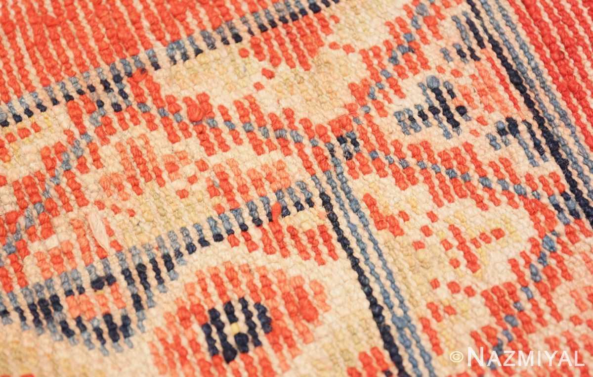 Weave detail Antique Tibetan rug 45640 by Nazmiyal