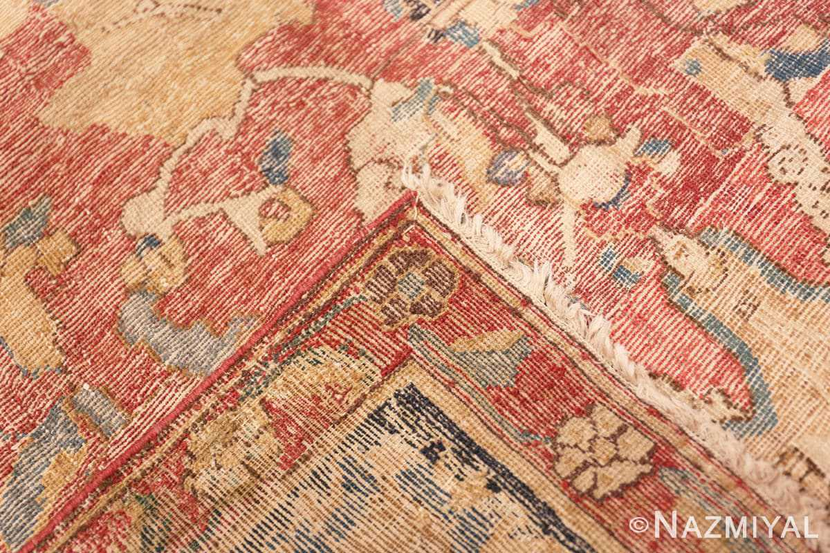 Weave Oversized Antique 17th Century Persian Esfahan Oriental rug 44143 by Nazmiyal