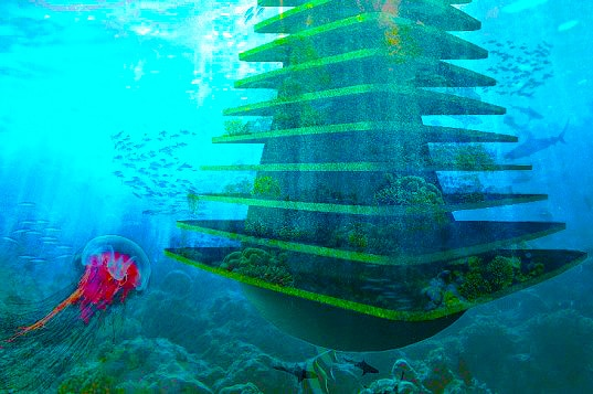 Waterstudio Sea Trees Design an Eco Friendly Architecture by nazmiyal