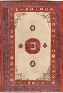Antique Khotan Rug 45780 Nazmiyal