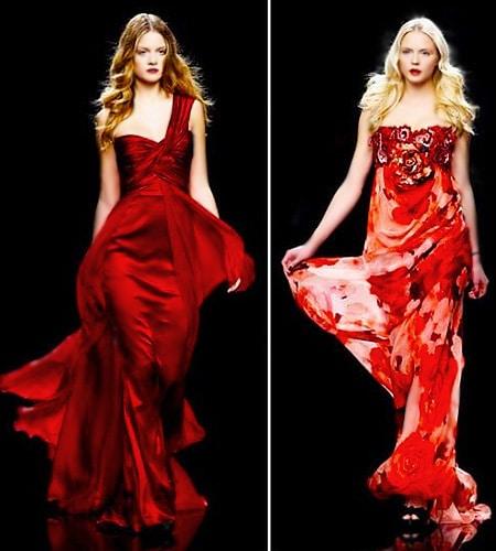 Christmas Red Valentine's Day Dresses Nazmiyal