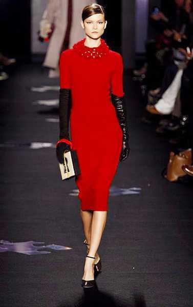 Diane Von Furstenberg Red Valentine's Day Dress Nazmiyal