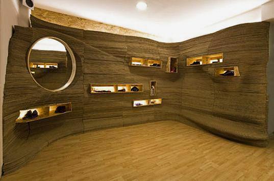 Eco Friendly Recycled Cardboard Modern Interior Decor by Nazmiyal