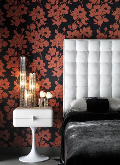 Modern Floral Wallpaper Nazmiyal