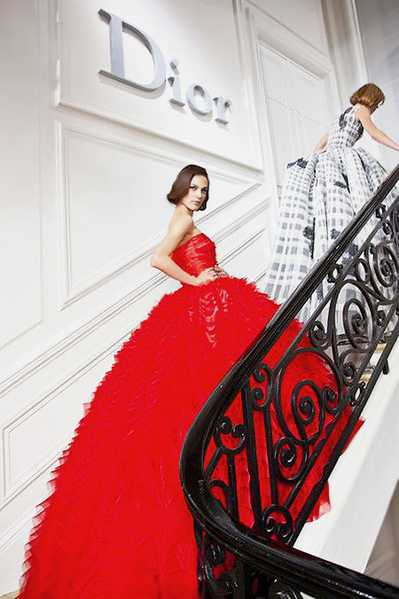 Red Valentine's Day Dress by Dior Nazmiyal