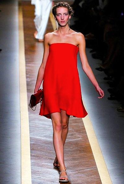 Red Valentino Valentine's Day Spring Dress Nazmiyal