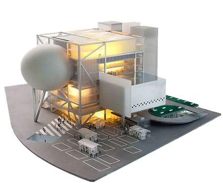 Taipei Performing Arts Center Architecture Model Nazmiyal