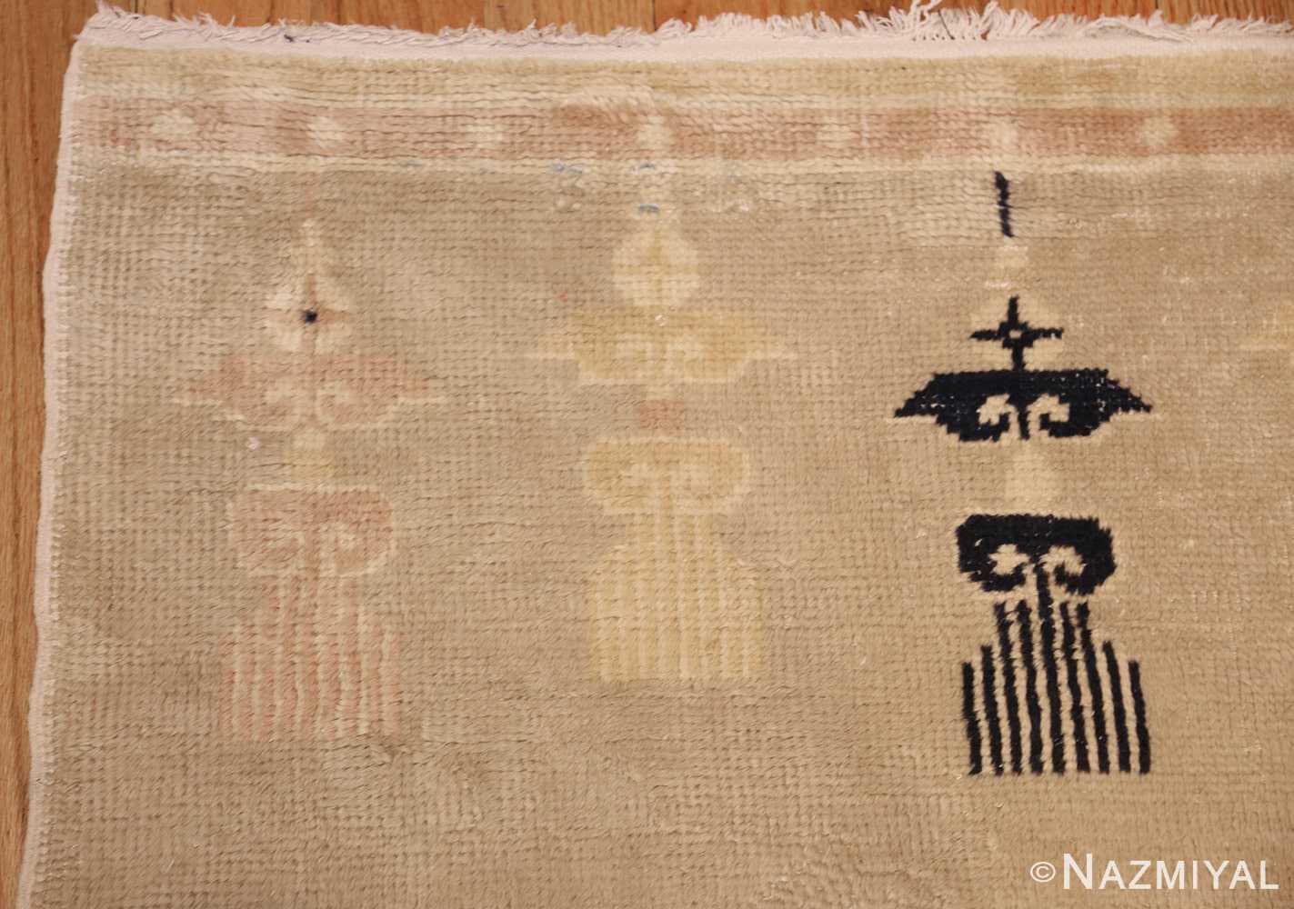 antique chinese rug 45794 corner Nazmiyal