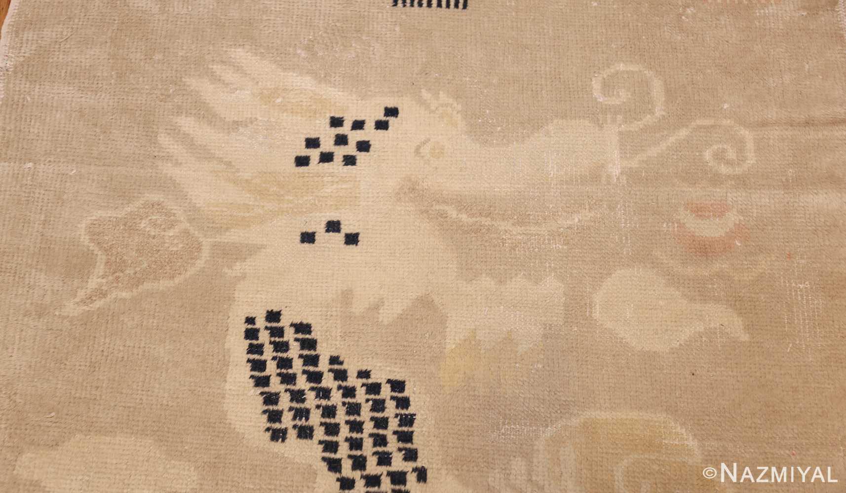 antique chinese rug 45794 head Nazmiyal