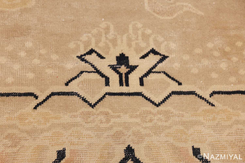 antique chinese rug 45794 torch Nazmiyal