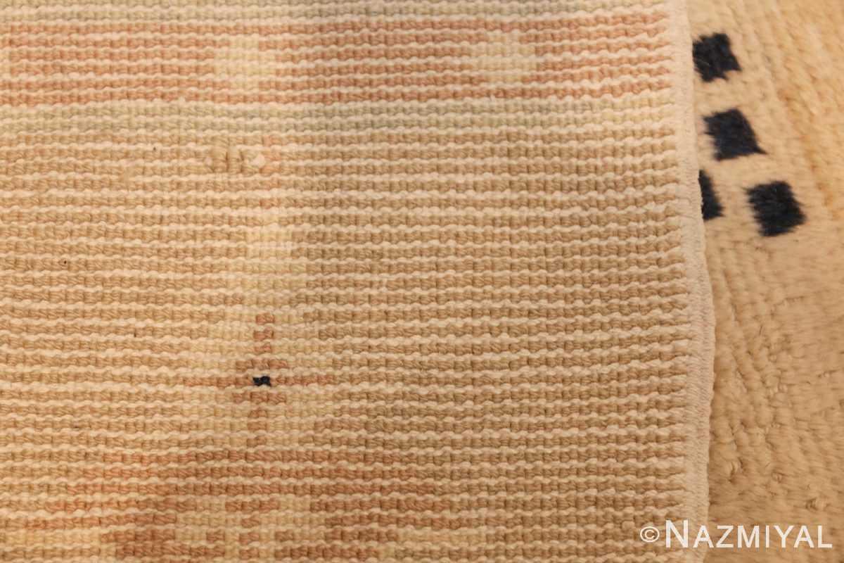 antique chinese rug 45794 weave Nazmiyal