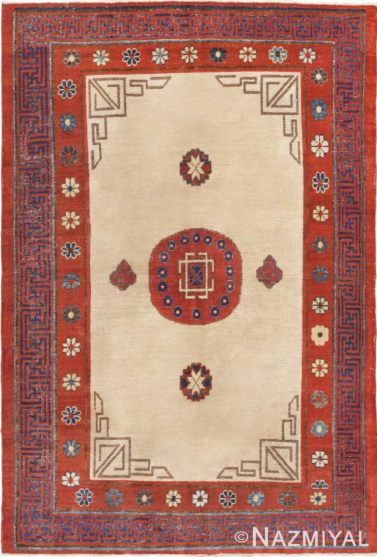 Antique Khotan Rug 45780 Nazmiyal