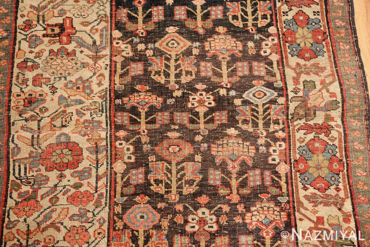 antique persian bidjar sampler rug 45502 field Nazmiyal