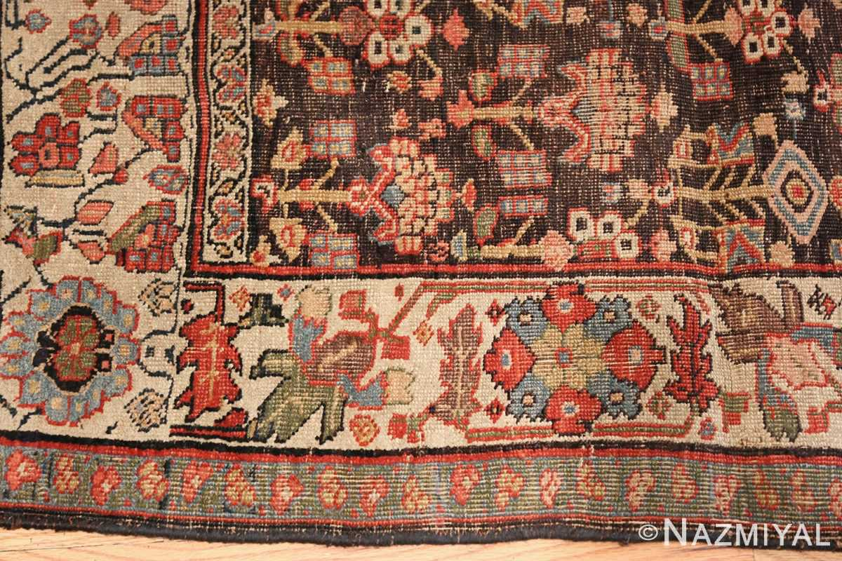 antique persian bidjar sampler rug 45502 thin Nazmiyal