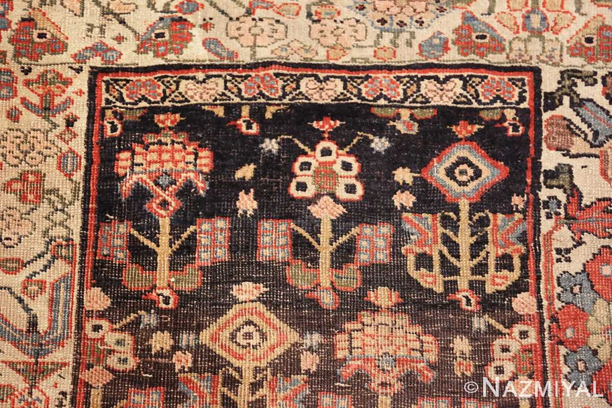 antique persian bidjar sampler rug 45502 top Nazmiyal