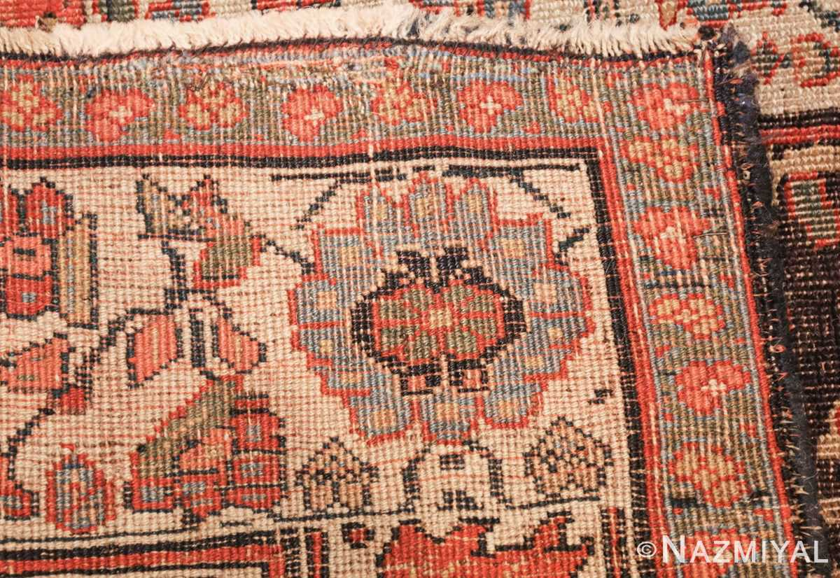 antique persian bidjar sampler rug 45502 weave Nazmiyal
