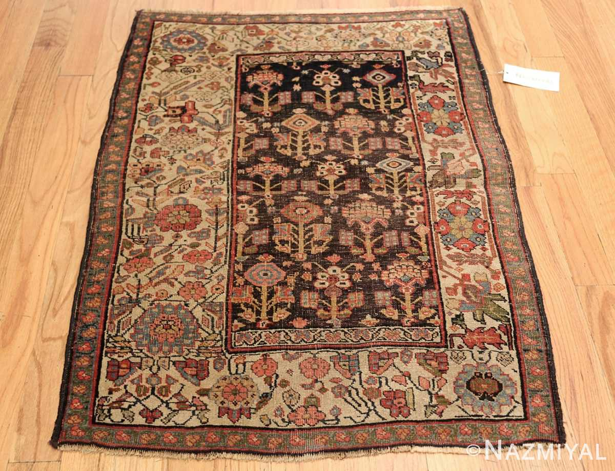 antique persian bidjar sampler rug 45502 whole Nazmiyal