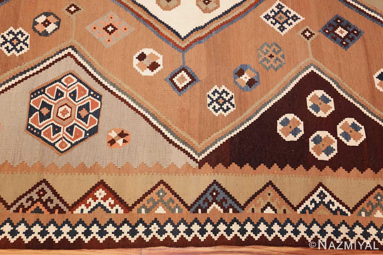 antique persian kilim 45782 border Nazmiyal