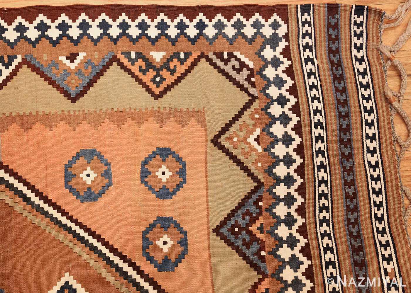 antique persian kilim 45782 corner Nazmiyal