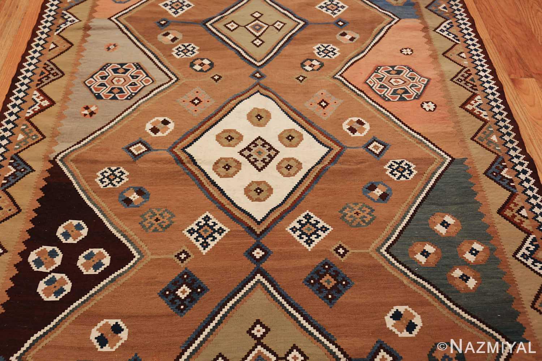 antique persian kilim 45782 field Nazmiyal