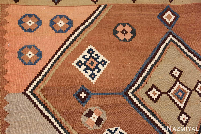 antique persian kilim 45782 side Nazmiyal