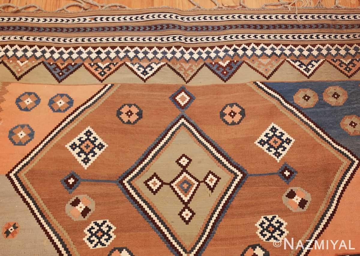 antique persian kilim 45782 top Nazmiyal