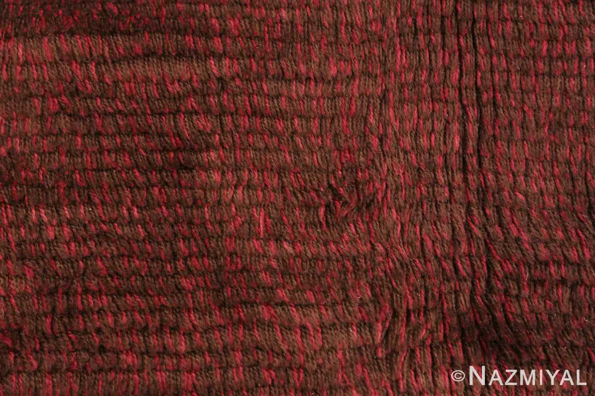 Background Vintage Scandinavian Swedish Rya rug 45786 by Nazmiyal