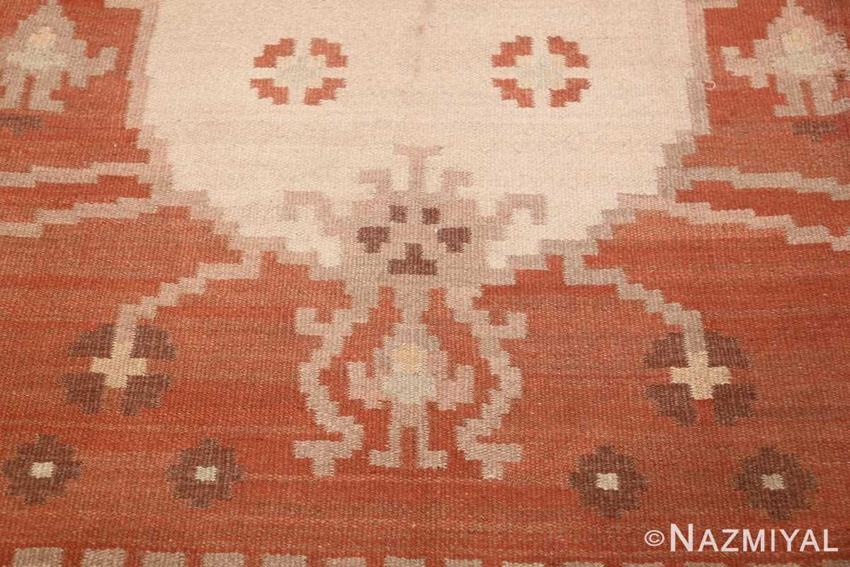 vintage swedish rug 45788 design Nazmiyal