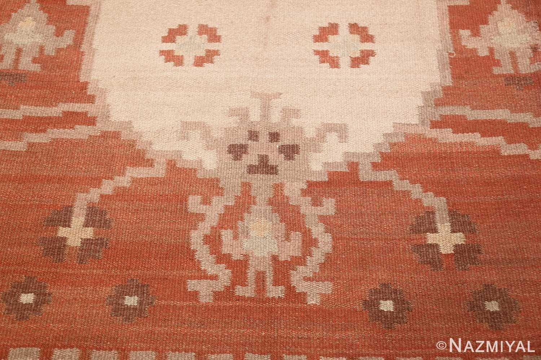 vintage swedish rug 45788 design Nazmiyal