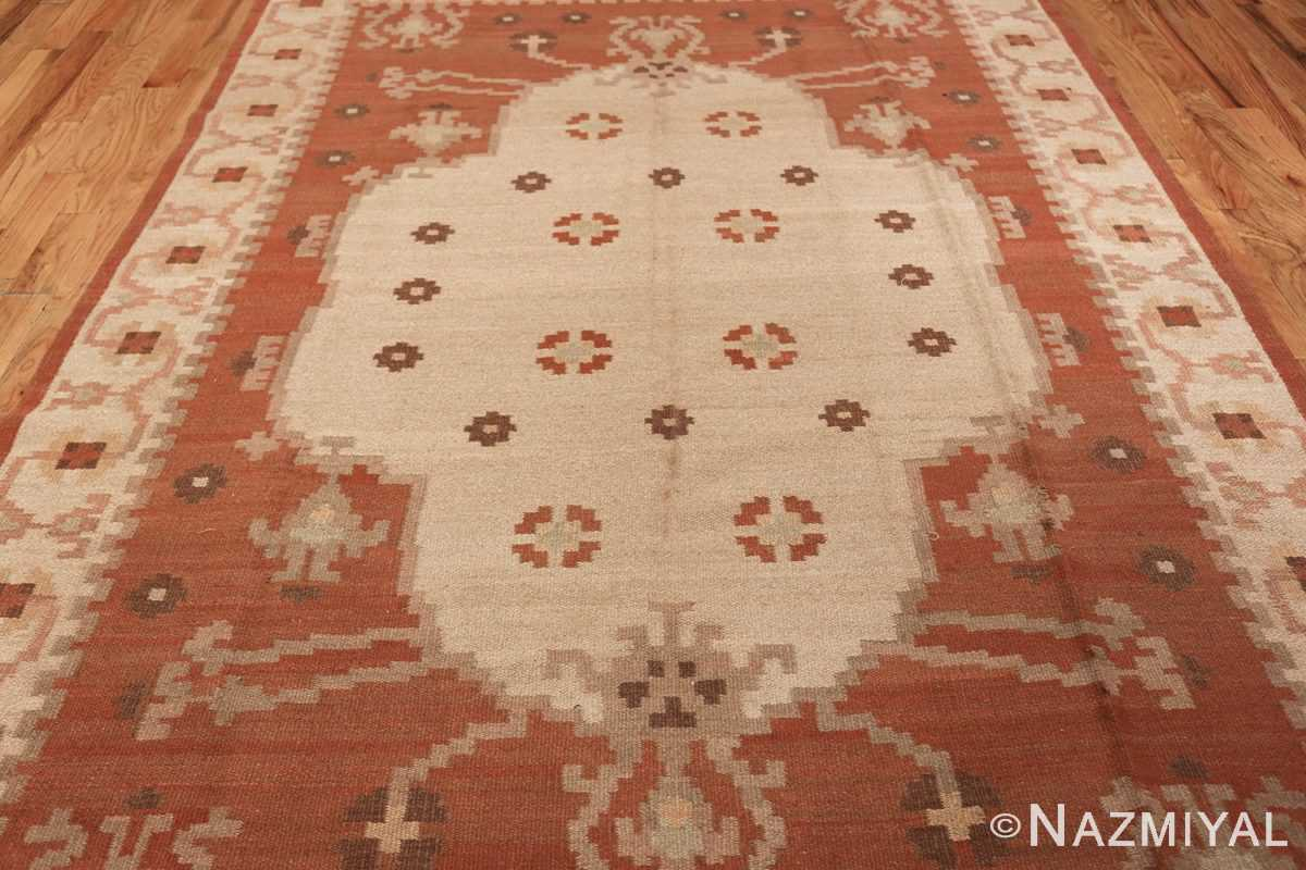 vintage swedish rug 45788 middle Nazmiyal