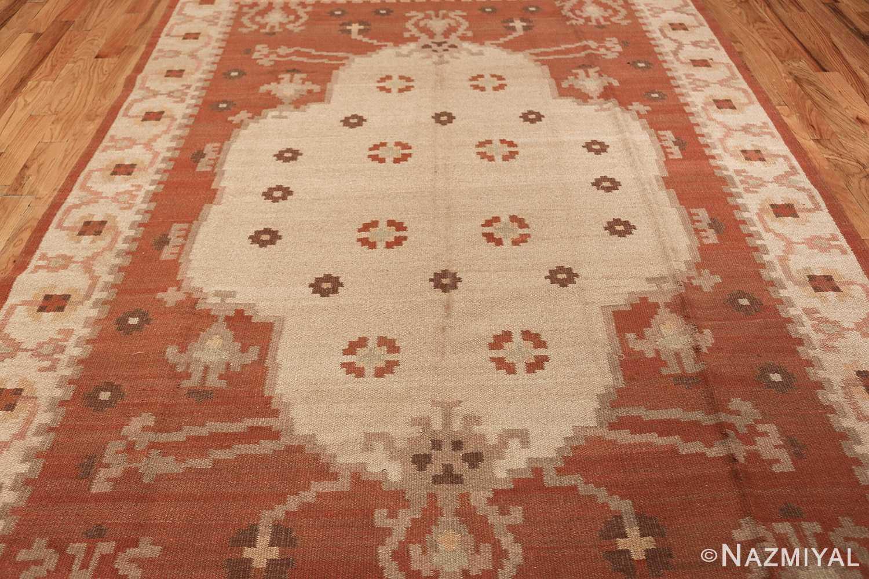 vintage swedish rug 45788 middle Nazmiyal