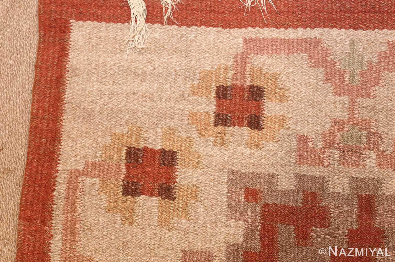 vintage swedish rug 45788 weave Nazmiyal