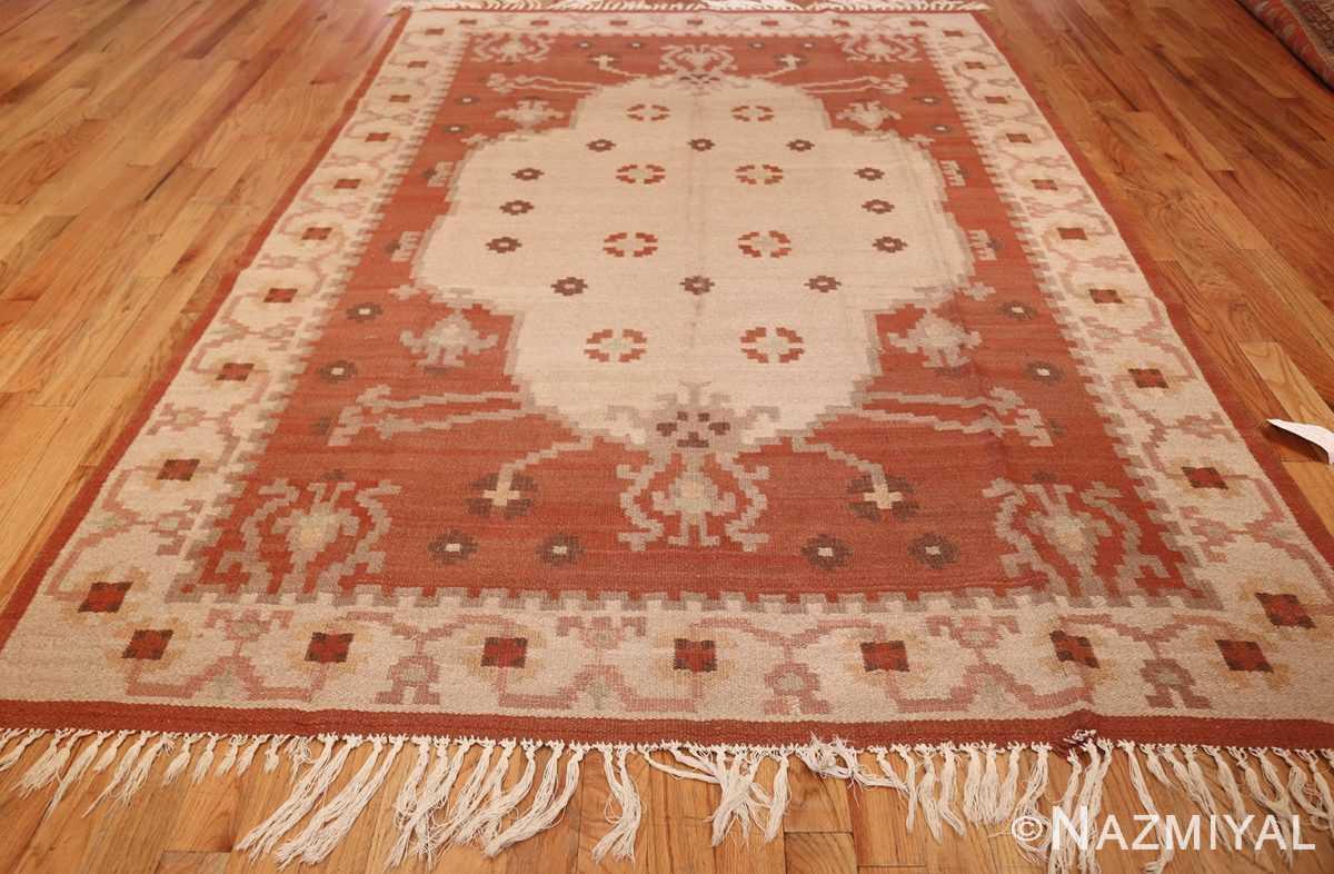 vintage scandinavian rya rug 45530 weave Nazmiyal