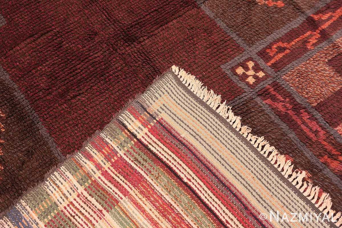 Weave Vintage Scandinavian Swedish Rya rug 45786 by Nazmiyal