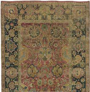 17th century Persian Isfahan carpet