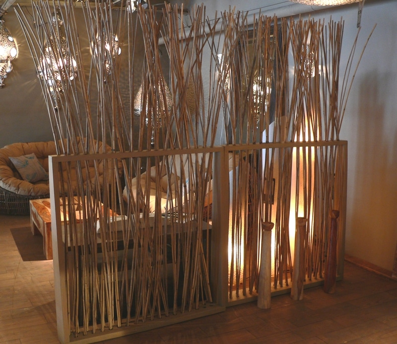 Bamboo Home Interior Room Divider